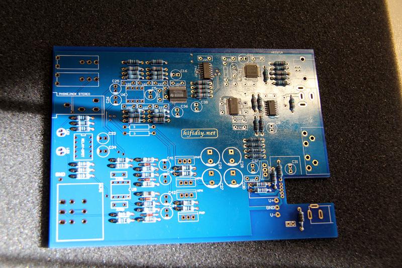 Сборка Hifidiy Mini USB DAC Mk2 Kit