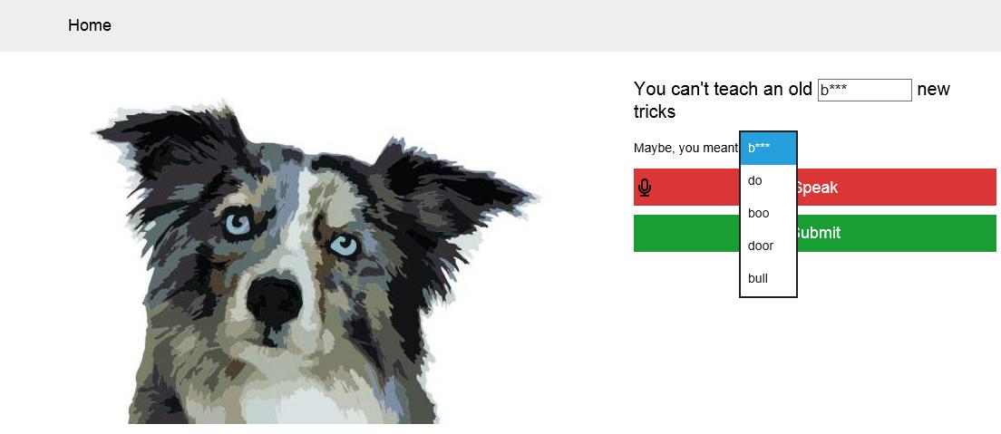 Как Bing пытался распознать мое слово