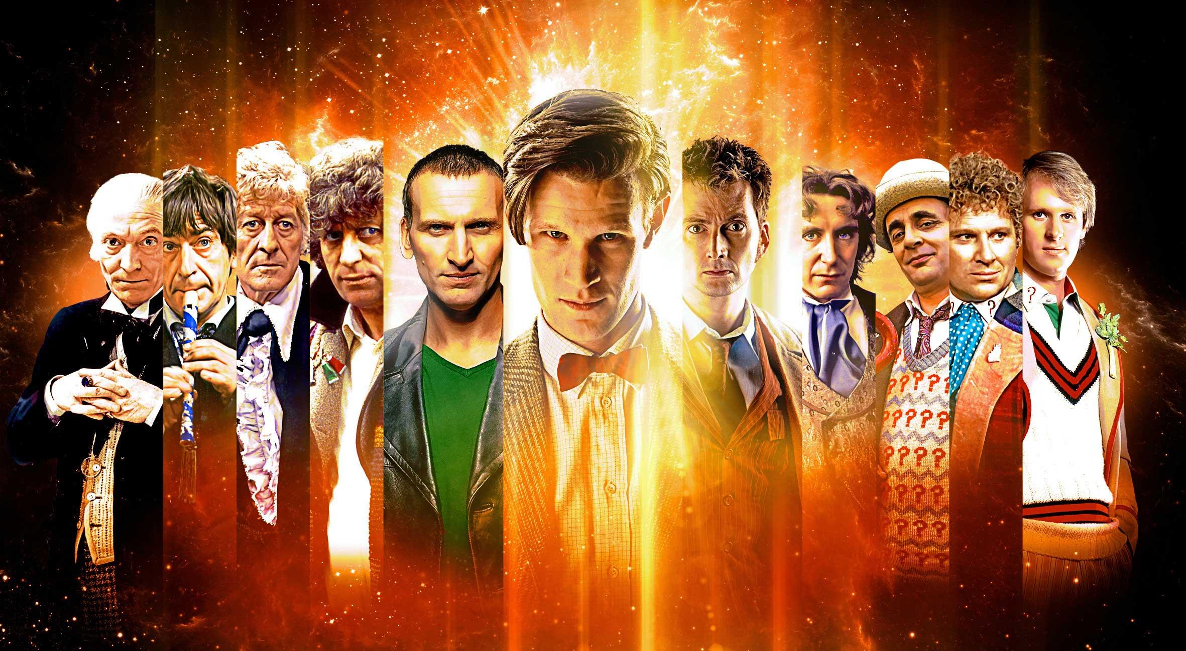 Сериалу Doctor Who исполнилось 50 лет