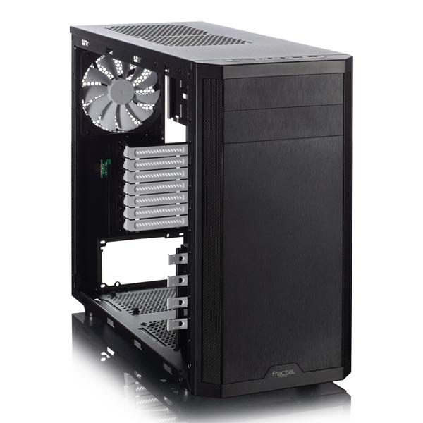 Корпуса для ПК Fractal Design Core 3500 и Core 3500W окрашены в черный цвет