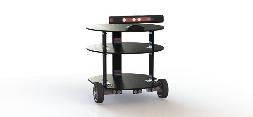 Сервисный робот Tod. Первые шаги вместе с ROS