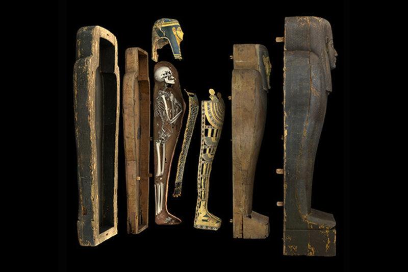 Шведский музей предлагает посетителям «раздеть» цифровую копию египетской мумии