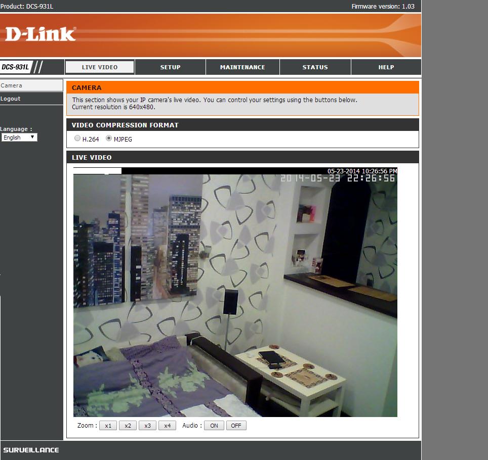 Система домашнего видеонаблюдения