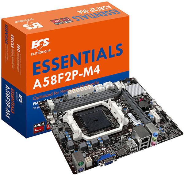Подсистема питания ECS A58F2P-M4 построена по четырехфазной (3+1) схеме