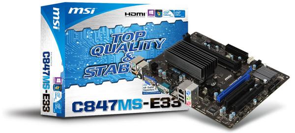 MSI C847MS-E33