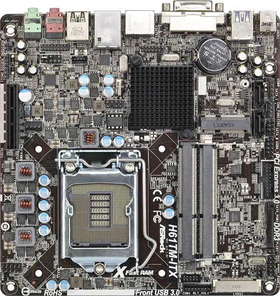 ASRock H61TM-ITX
