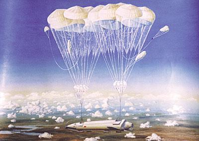 Системы обеспечения мягкой посадки первой ступени ракеты носителя