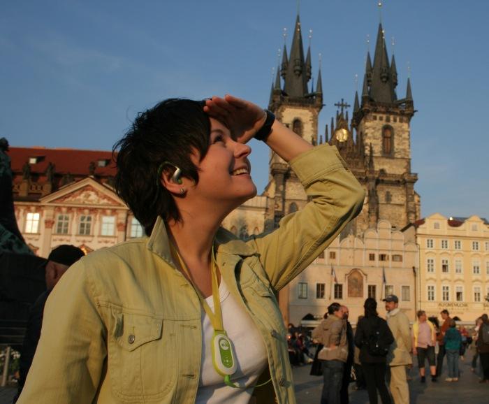 Prague Electronic Tour Guide. Клубникина.