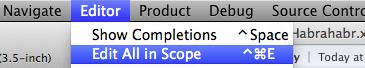 Скрытые возможности Xcode 5