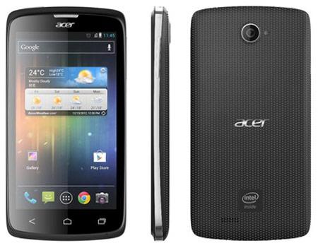 Смартфон Acer Liquid C1 весит 140 г