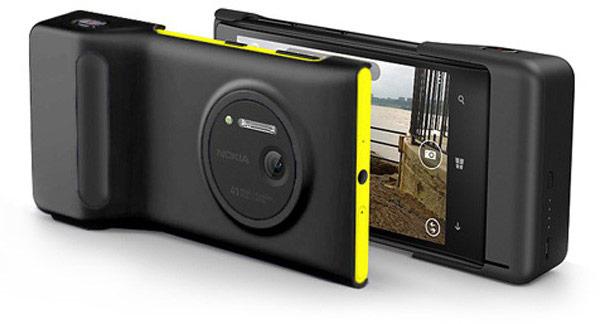 Microsoft Store дарит покупателям Nokia Lumia 1020 рукоятки, делающие использование смартфона в качестве камеры более удобным