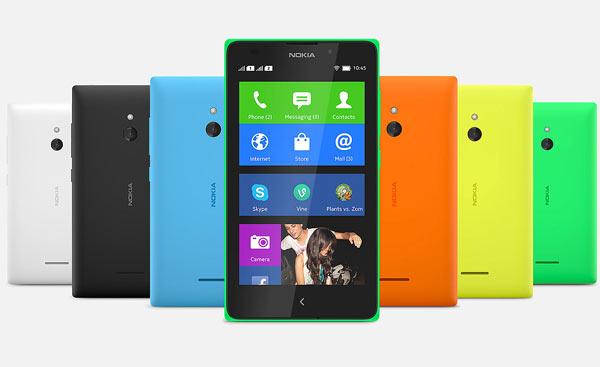 Смартфон Nokia XL поддерживает две карты SIM