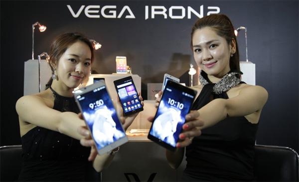 Pantech Vega Iron 2