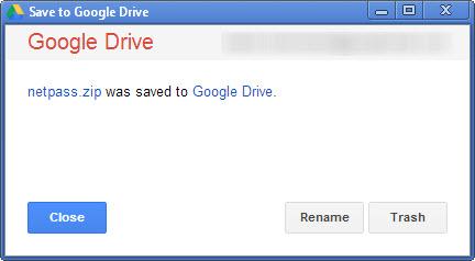 Сохранение файлов из интернета на Google Drive