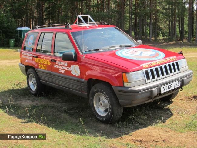 Соревнования автомобилей роботов в России