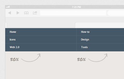 Создаем адаптивную навигацию на сайте