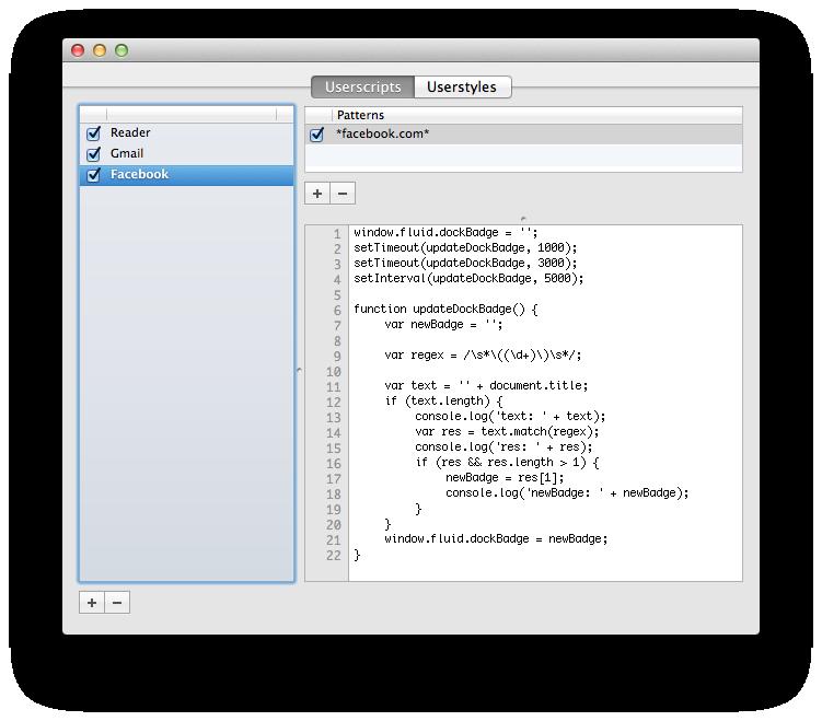 Создаем удобный вьювер для vk.com при помощи Fluid.app с нотификацией о новых сообщениях в доке Mac OS X