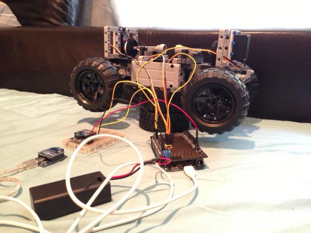 Создание автономного робота Frank. Часть вторая