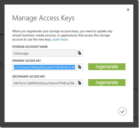 Создание резервной копии БД в Azure Storage