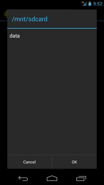 Создание удобного OpenFileDialog для Android