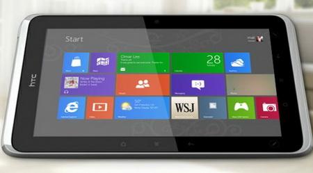 HTC новые плншеты с Windows Blue