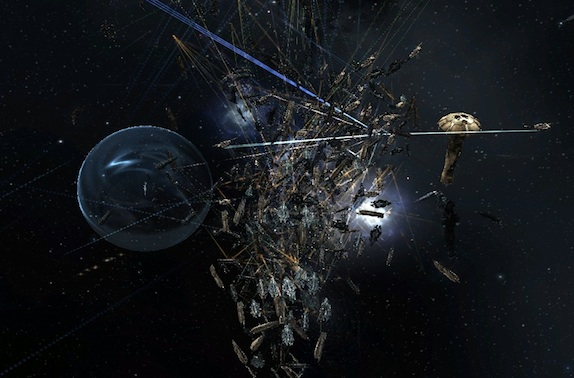 Сражение при Asakai: как EVE Online справляется с гигантскими битвами