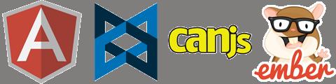 Сравнение Angular, Backbone, CanJS и Ember