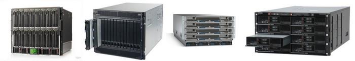 Сравнение блейд серверных платформ HP, IBM, Cisco и Hitachi, часть первая: аппаратная конструкция, охлаждение, питание