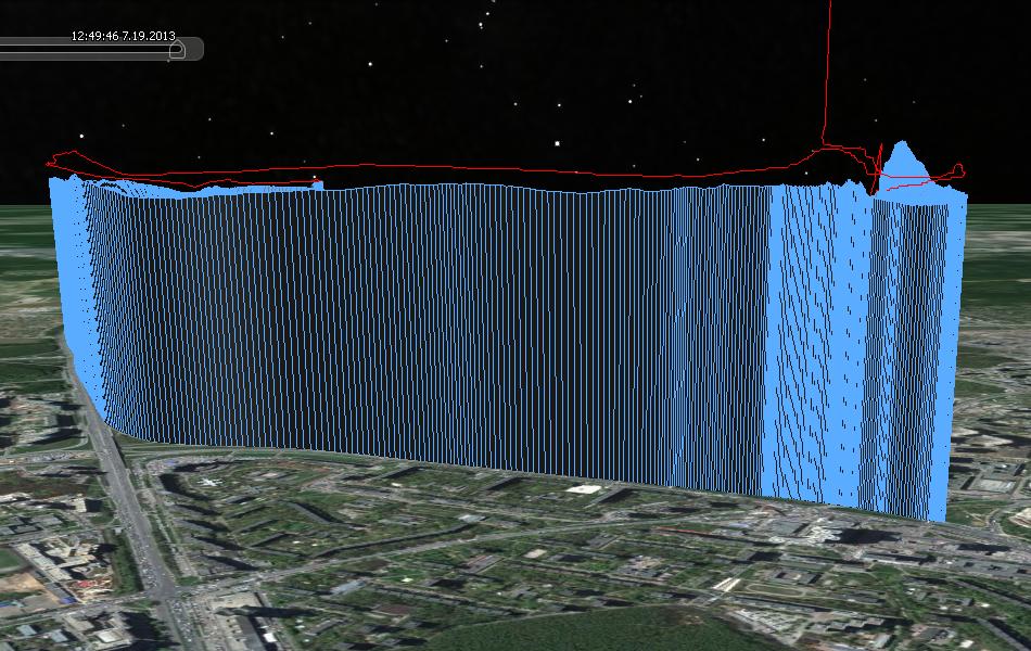 Сравнение двух GPS Data Loggerов