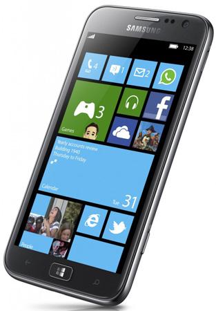 Samsung ATIV S дороже HTC 8X, но дешевле Nokia Lumia 920