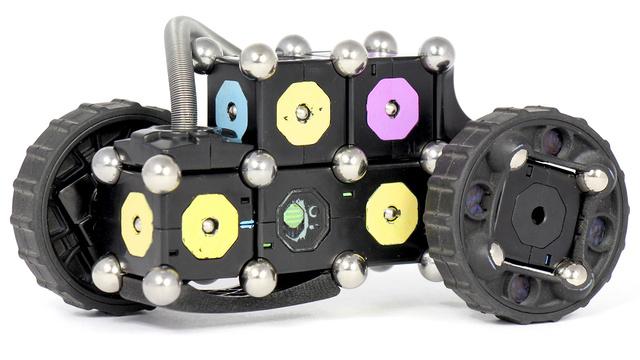 Стальные шарики делают самосборных роботов ещё более «живыми»