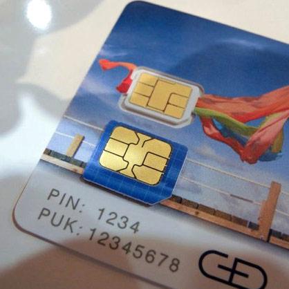 Стандартизован новый формат карточек SIM