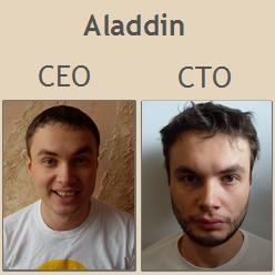Aladdin CEO & Aladdin CTO