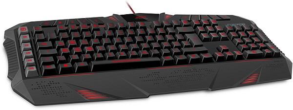 Стартовали продажи игровой клавиатуры SpeedLink Parthica Core