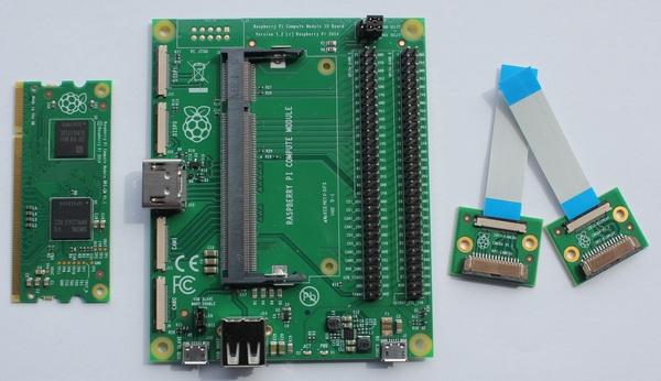 Raspberry Pi Compute Module Development Kits