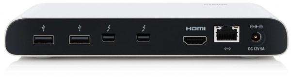 Док Elgato Thunderbolt Dock оснащен двумя портами Thunderbolt 10 Гбит/с