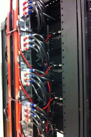 В суперкомпьютере Eurora используется водяное охлаждение