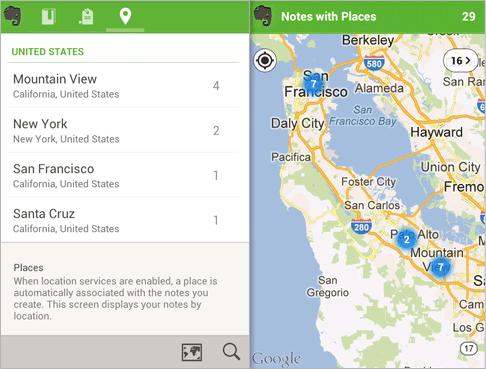 Существенно обновленный Evernote 4.0 для Android