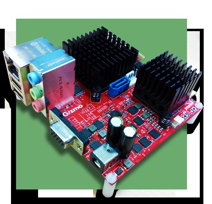 Сверхкомпактная высокоинтегрированная x86 плата от AMD