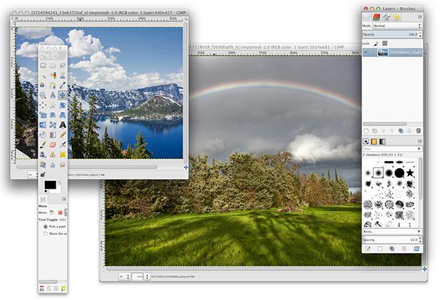 Свободный редактор GIMP — теперь нативное приложение для Mac OS X