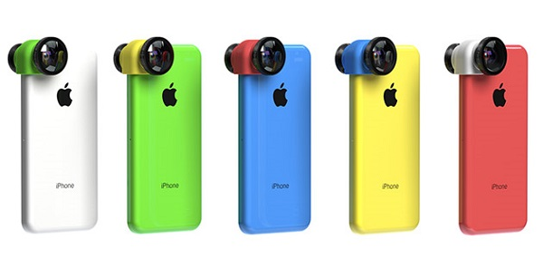 Съёмный объектив Olloclip 3-в-1 для смартфона Apple iPhone 5c доступен для предзаказа