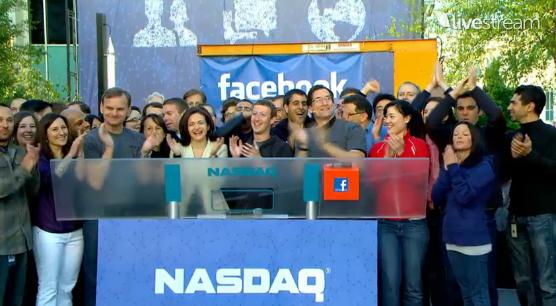 Техническая команда Facebook «взломала» колокол NASDAQ, чтобы обновить статус Марка Цукерберга на его странице