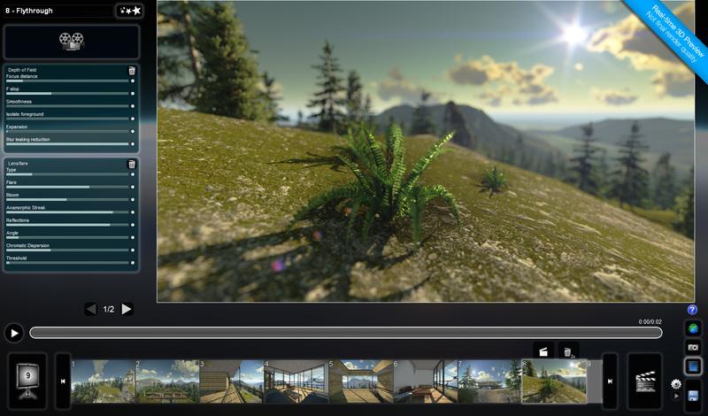 Трехмерная визуализация в реальном времени для архитектуры и промышленного дизайна