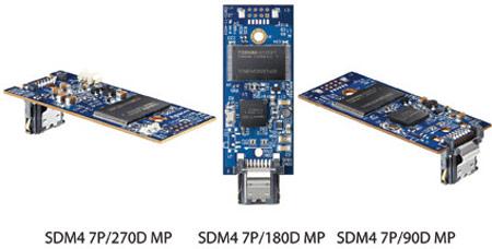 В накопителях Apacer SDM4 MP используется память типа SLC и MLC