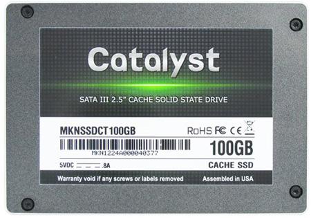 Mushkin Catalyst Cache SSD