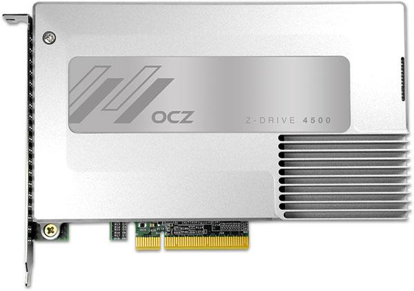 К достоинствам Z-Drive 4500 относится сохранение целостности данных при аварийном отключении питания