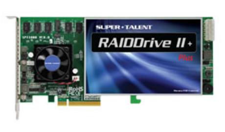 Габариты Super Talent RAIDDrive II Plus — 231,5 x 94,0 x 20,6 мм