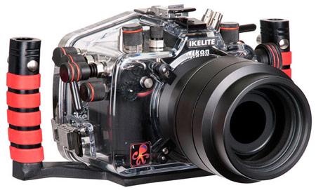 У Ikelite готов подводный бокс для Nikon D800
