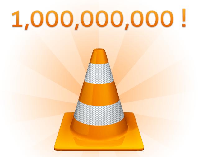 У VLC юбилей — один миллиард загрузок