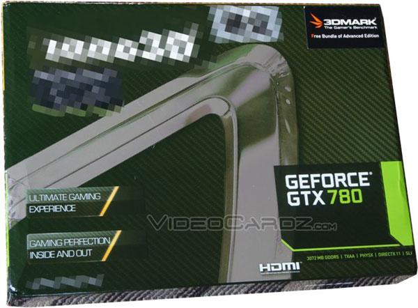 Опубликовано фото упаковки Inno3D GeForce GTX 780, уточнены спецификации